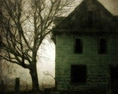 surreal photography green abandoned house rural decay fine art photography