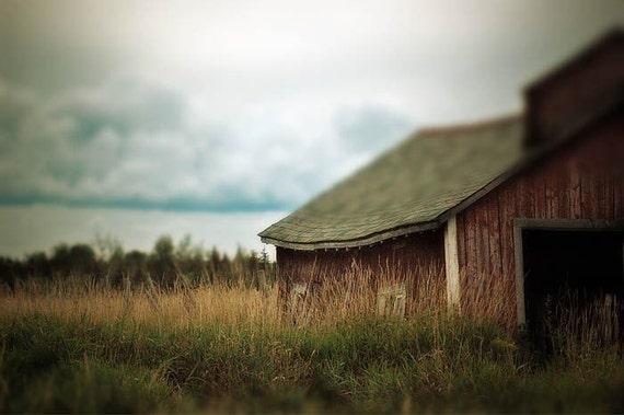 Barn Photograph, Farmland, home decor, Fine Art Photograph