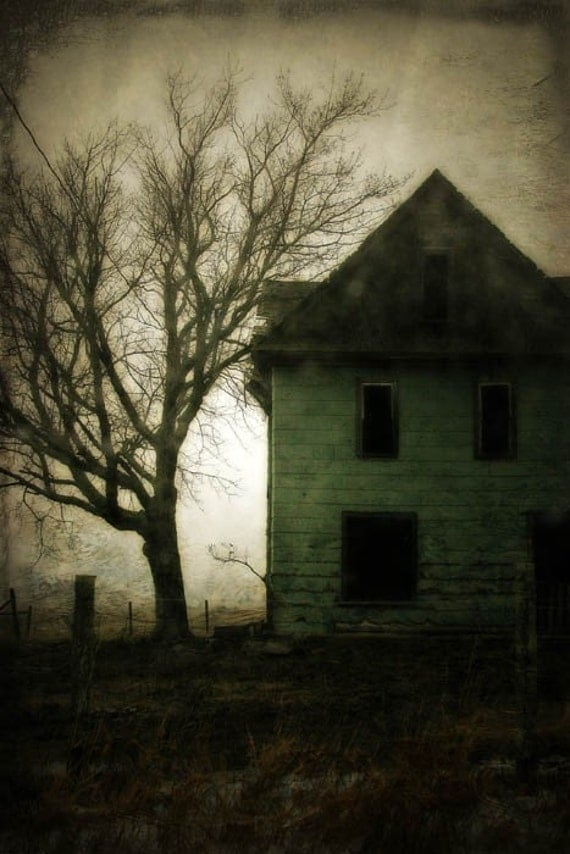 Holiday Gift - Decor - Haunted - 8x12 Fine Art Photograph Halloween