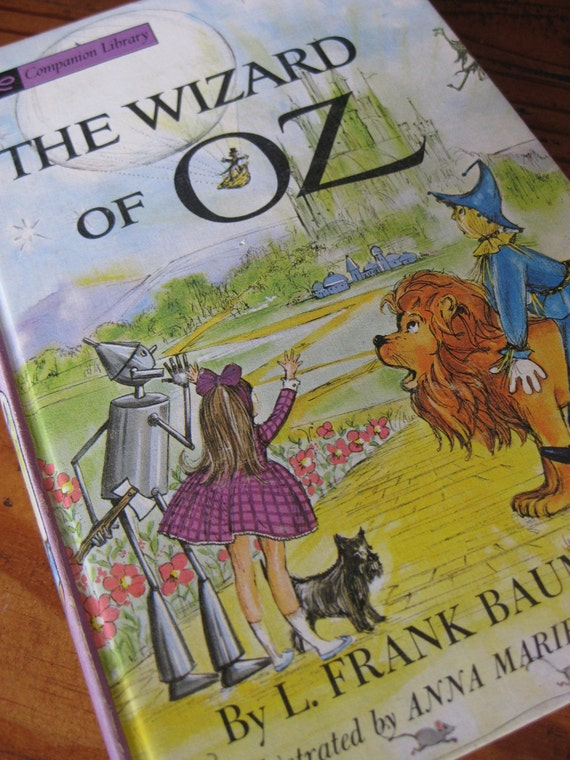 Vintage The Wizard of Oz Companion Library Book