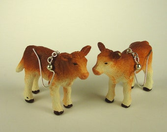 Baby Cow Earrings