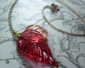 Glassy Leaf and Precious Pink TWO DOLLAR optional chain
