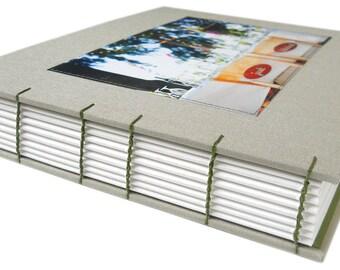 custom photo guestbook (8x10)