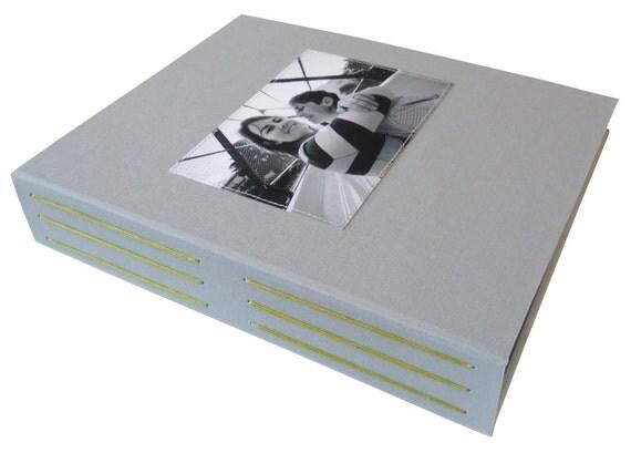 custom photo guestbook (10x8)