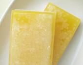 Bar Soap. Kitchen Gift. LEMON LANE Salt Bar Soap, Fresh Lemons, Citrus, Gifts for the cook. Womens Soap. Shaving Soap