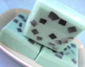 Foodie, Best Friend Gift, Chocolate Chip Mint Soap, Food Soap, Chocolate Lovers, Pastel Green, Natural, Gift for Teacher, Gift for Coworker