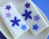 SALE Soap - Baby Bluebells - All Natural Glycerin Soap - Blue - Flowers - Floral - LAST ONE