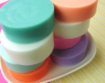 Natural Bar Soap, Glycerin Soap, SIMPLE SOAP, Pastels, You Pick the Scent, Shaving, Shower Soap, Soap Sale, For Kids, Gentle Soap