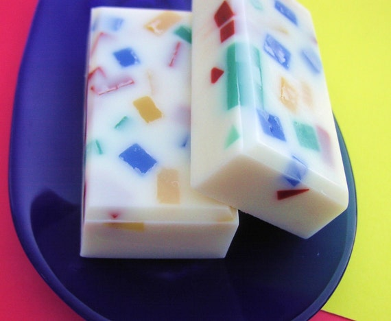 Sale Soap - Confetti Cake Soap - All Natural Glycerin - Clearance Soap - LAST ONE