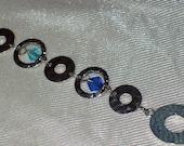 Chained Saphire - Bracelet
