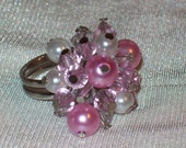 Pink Bliss Ring - RESERVED for Mareeka