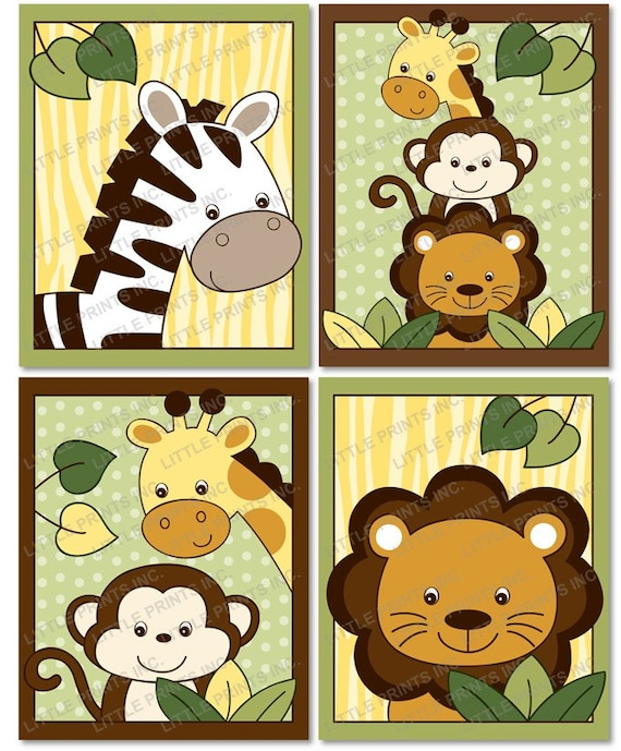 Crush image for printable jungle animals