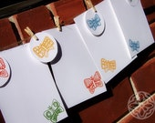 Printable Stationery Set - Butterflies