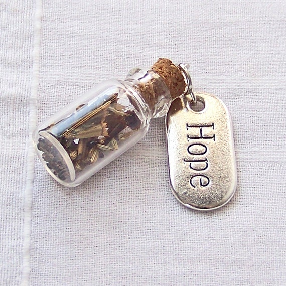 A Little Jar of Hope Pendant