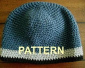The Perfect WINTER Beanie Crochet Pattern PDF Tight Stitch, OK to sell finished items