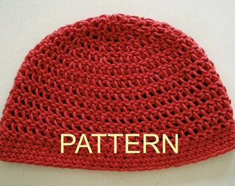 The Perfect ALL WEATHER Beanie Crochet Pattern PDF, Ok to sell finished items