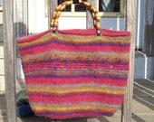 RESERVED -   Gorgeous Sunshine Felted Handbag  -