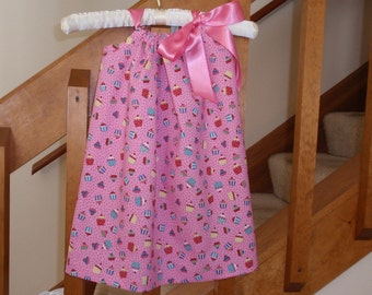 Yum, Yum Cupcake Pillowcase Dress