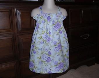 Lavender Rose Knot Dress