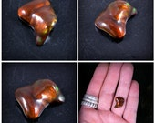 Custom Fire Agate ring Made to order  Sterling SIlver