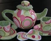 Lots of Dots Teapot-Tea Set