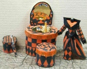 Quarter Scale Kit, Halloween Vanity and Accessories,  1/4 inch, 1:48,  or quarter scale