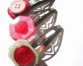 Pink Barrettes - Cute Hair Accessories for Girls
