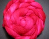 Hand Dyed Superwash Merino Roving Spinning Fiber - Ginza - 4.4 Ounces