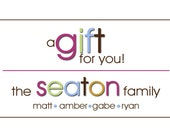 50 Personalized Gift Tags