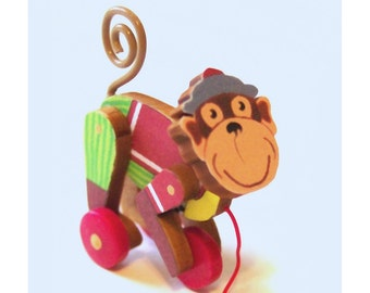 Miniature CIRCUS MONKEY Toy KIT