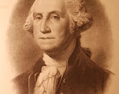 Ca 1916 George Washington Portrait by Eissler and Baldwin