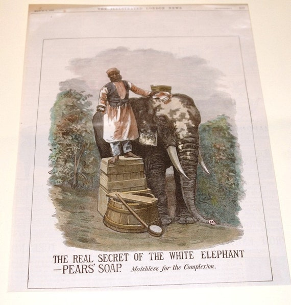 Illustrated advertisement from the London Illustrated News - 1881