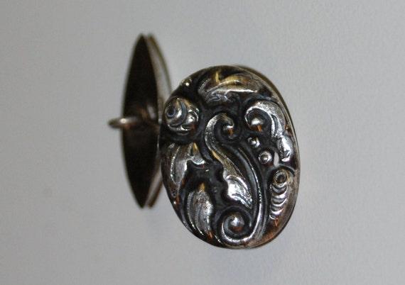 Victorian 800 Silver Cufflinks