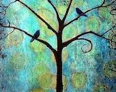 Twilight Tree Large Signed Print
