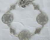 Lacey Sterling Silver Link Bracelet dmfsparkles