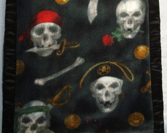 Pirates Satin Fleece Cotton Pillowcase Cover dmfsparkles