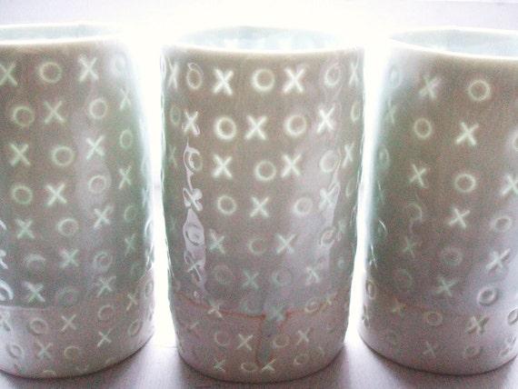 xo - Translucent porcelain cup