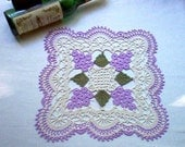 DOILY Beaujolais Crochet Lace Thread Art Doily