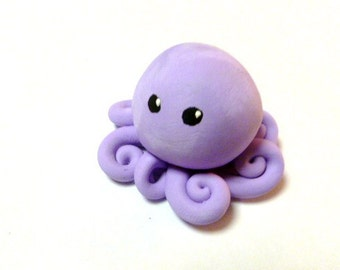 Awesome Little Octopus in Solid Lavender