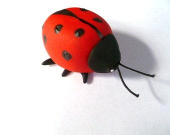 Mini Marble Friend Ladybug