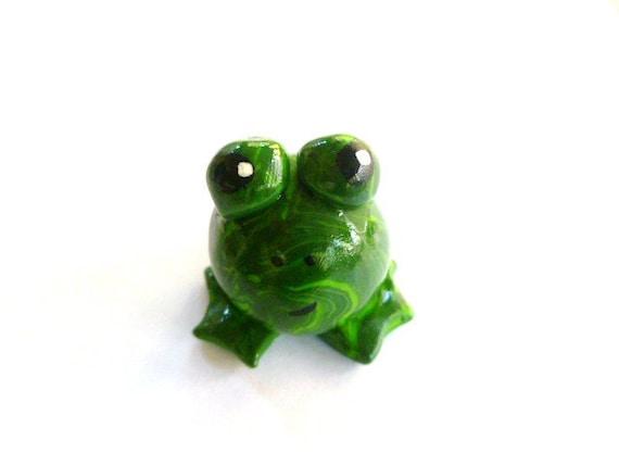 Mini Marble Friends-Friendly Frog