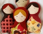 Anya a PDF Pattern directions for an eco friendly rag matryoshka