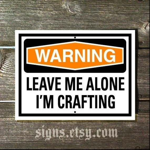 Items Similar To Crafting Sign