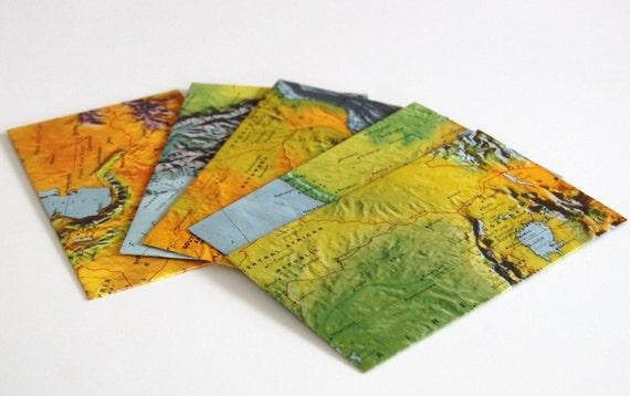 Physical Map Envelopes
