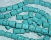 Desert Sun Beads in Turquoise with Gold