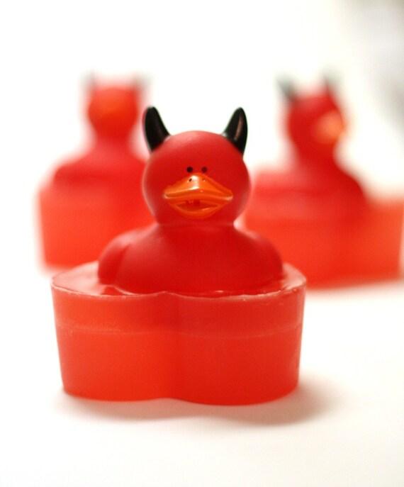 Devil Ducky Glycerin Soap - Duck Soap