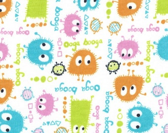 SPRiNG OoGa BooGa, Cotton Interlock Knit, 35.50 inch piece