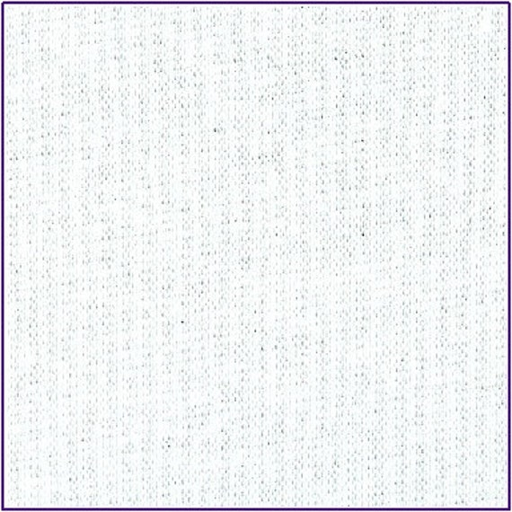 WHITE RIBBING 2x1, Cotton Lycra Rib knit fabric, Fat Eighth, 9 x 21 inches
