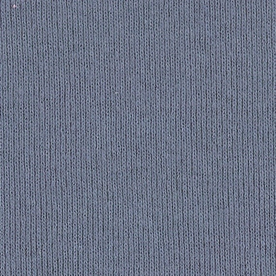 SLATE BLUE 1x1 RIBBING, Cotton, Fat Eighth, 9 x 20 inches