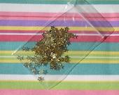 FREE SHIPPING Gold foil mini stars